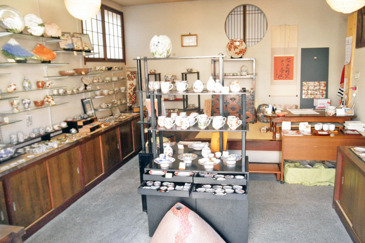 Inside of the shop 1